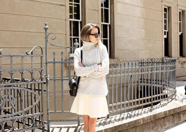 oracle fox skirt shoes bag sunglasses