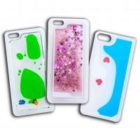 Liquid phone cases