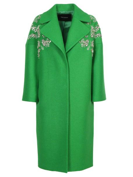 Tara Jarmon coat green