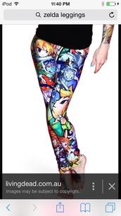 leggings,legend of zelda,zelda