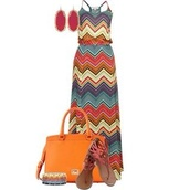 dress,maxi dress,multicolor,stripes,zigzag,summertime,spaghetti strap,spaghetti straps dress