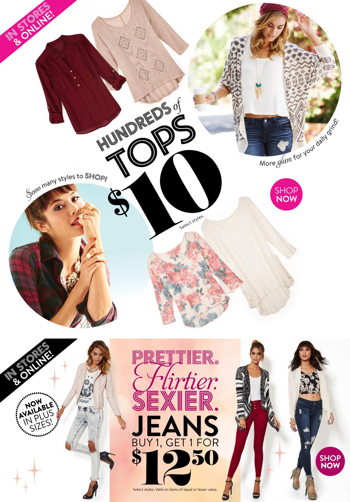 Trendy Women's Clothing, Juniors, Shoes & Dresses: Charlotte Russe