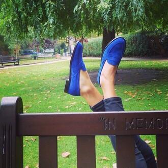 shoes english flag fashion flats