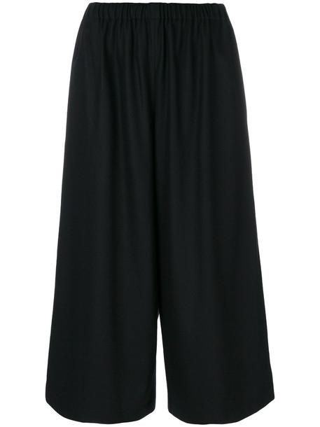 Comme des Garçons Comme des Garçons pants cropped pants cropped women black wool
