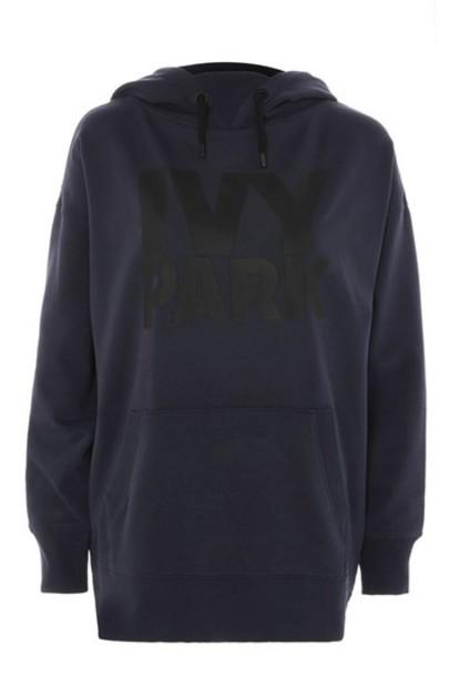 hoodie navy blue sweater