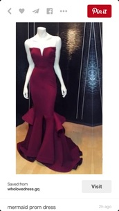 dress,prom dress,red dress,mermaid prom dress,dark,pretty,beautiful,perfect,bodycon dress,formal,formal dress,strapeless,wine red,elegant,grad,graduation,debs,long,prom,plum,red,purple,burgundy,floor length,strapless,beandeau,mermaid,layers,layer,layered,structured,evening formal dresses,cheap evening dresses online,evening gowns on sale,2016 prom dresses uk,cheap unique prom dresses,cheap prom dresses under 200,prom dresses under 200,homecoming,sexy,tall,slim,lost,prom gown,burgundy prom dress wine prom dress,maroon/burgundy,ruffle dress,halter dress,burgundy dress,gorgeous,amazing,exactly like this,sweetheart dress,satin,satin dress