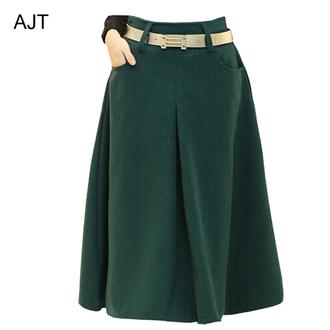 skirt woolen skirt long skirt fall skirt fall long skirt long skirt washed out