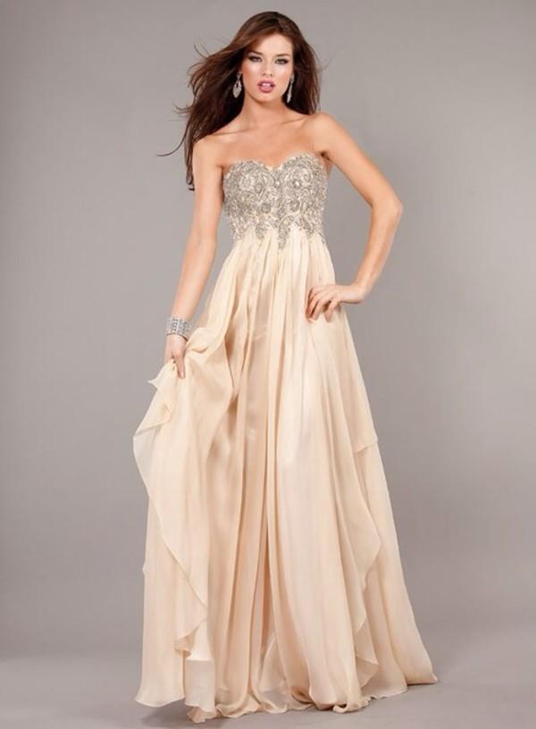 dress elegant long dress long prom dress flowy dress prom dress