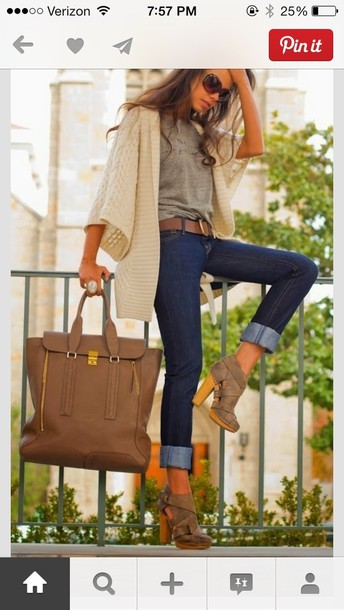 shoes bag light brown jacket brown high heel booties booties block heels wooden heel ankle boots