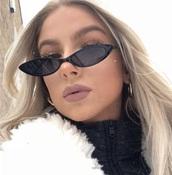 sunglasses,sunnies,thin sunglasses,skinny sunglasses,black sunglasses,retro sunglasses,vintage sunnies,accessories,Accessory,summer accessories