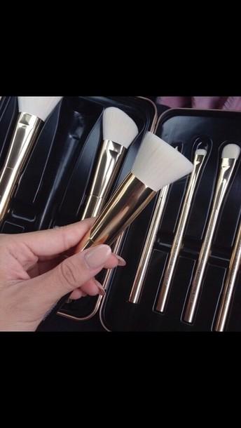 make-up make-up brush set white brush makeup brushes