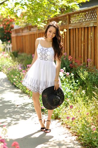 hapa time shoes jewels bag dress hat