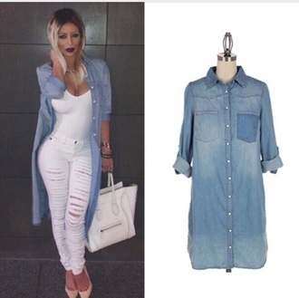 blouse denim shirt denim jacket denim dress denim overalls