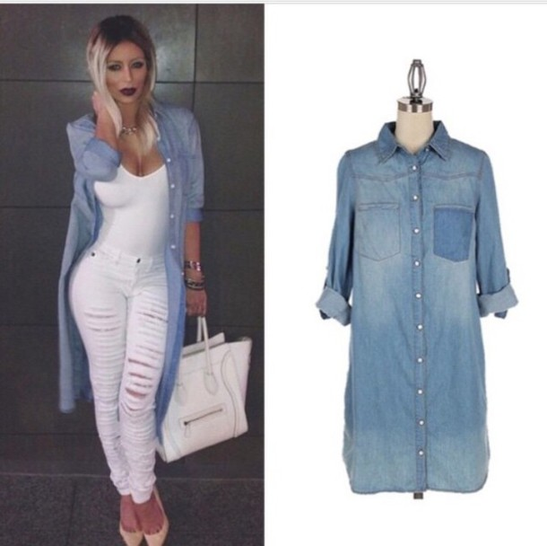 blouse denim shirt denim jacket denim dress denim overalls
