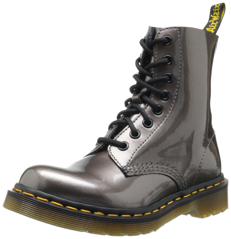 moderno ed elegante nella moda nuovi stili scarpe eleganti Dr. Martens PASCAL Spectra Patent PEWTER Damen Derby Schnürhalbschuhe:  Amazon.de: Schuhe & Handtaschen
