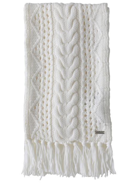 Woolrich Wool Scarf in white