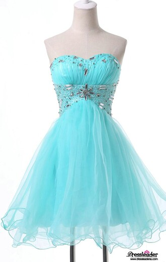dress prom dress mini mini dress short short dress blue blue dress sky dress crystal sweetheart dress fashion style cool cute love pretty wow amazing stylish pinterest trendy girly dressofgirl bridesmaid special occasion dress sexy sexy dress