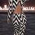 Black White Geometric Pattern Backless Jumpsuit - Sheinside.com