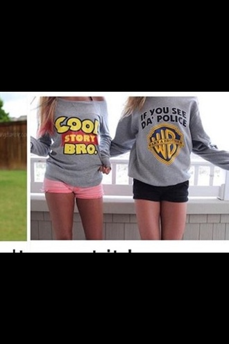 shirt style cool grey toy story chic fashion long sleeves grey t-shirt