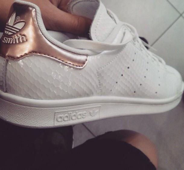 shoes adidas ros gold stan smith wheretoget. Black Bedroom Furniture Sets. Home Design Ideas