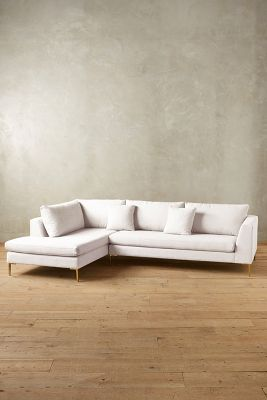 Belgian Linen Edlyn Left Sectional