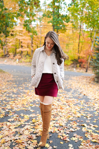 covering bases curvy blogger coat skirt top socks shoes jewels