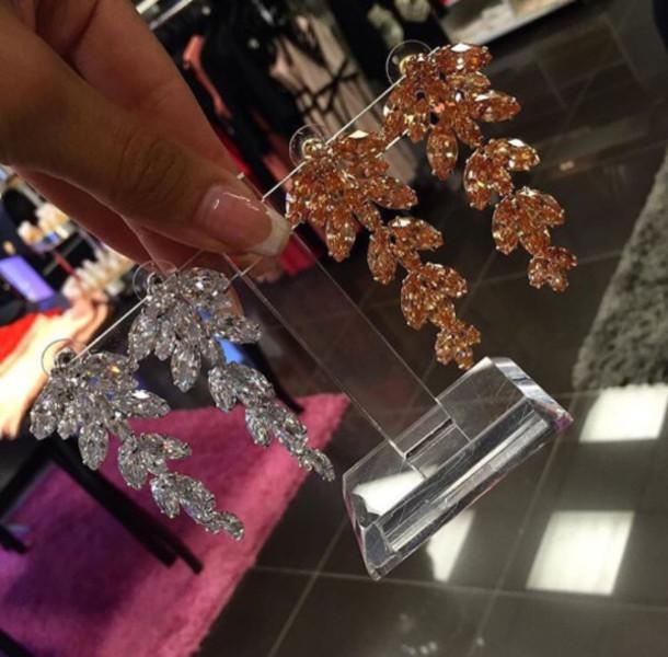 Jewels: earrings, gold chandelier earrings, chandelier earrings ...