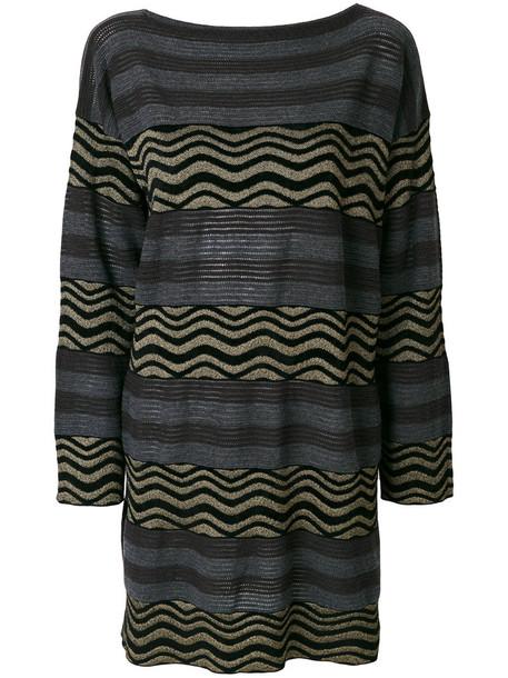 Antonio Marras dress women wool grey