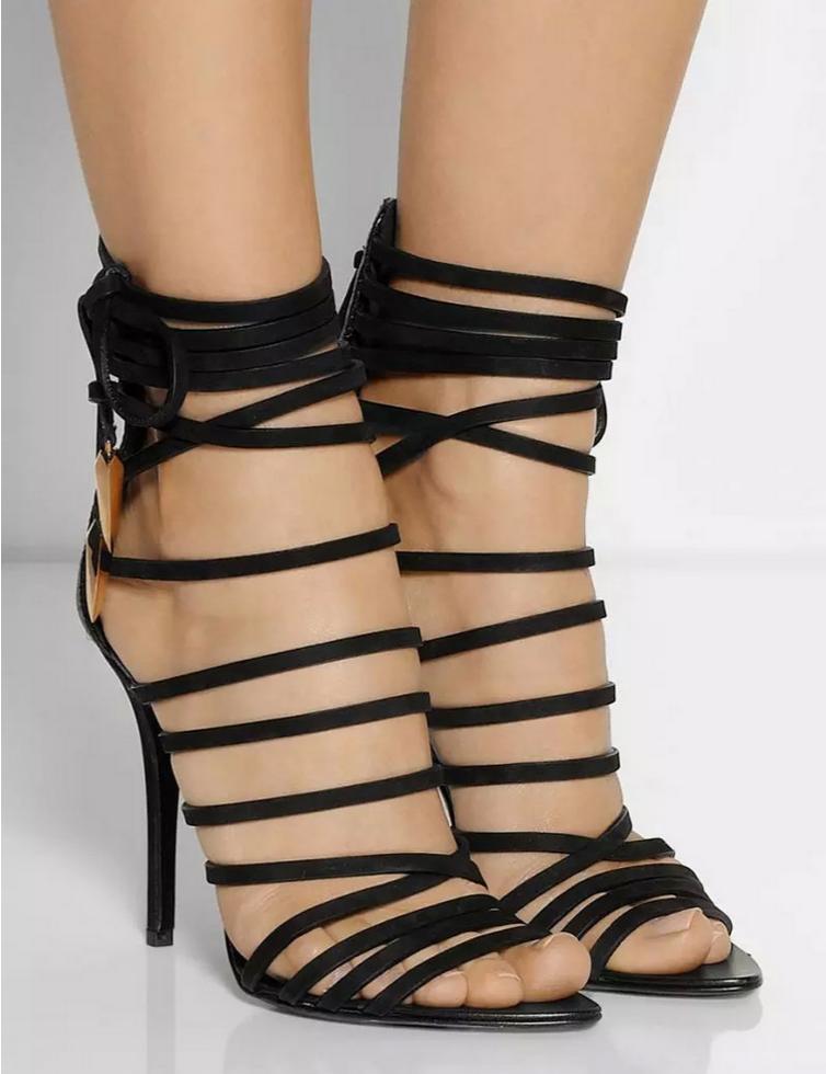 Caged Gladiator Heels