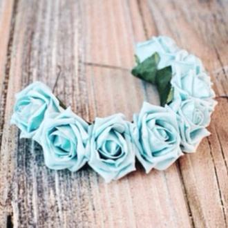 hair accessories flower headband hipster grunge beach wedding