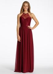 dress,prom dress,prom,bridesmaid,maxi dress,burgundy,burgundy dress,halterneck,lace dress,long prom dress