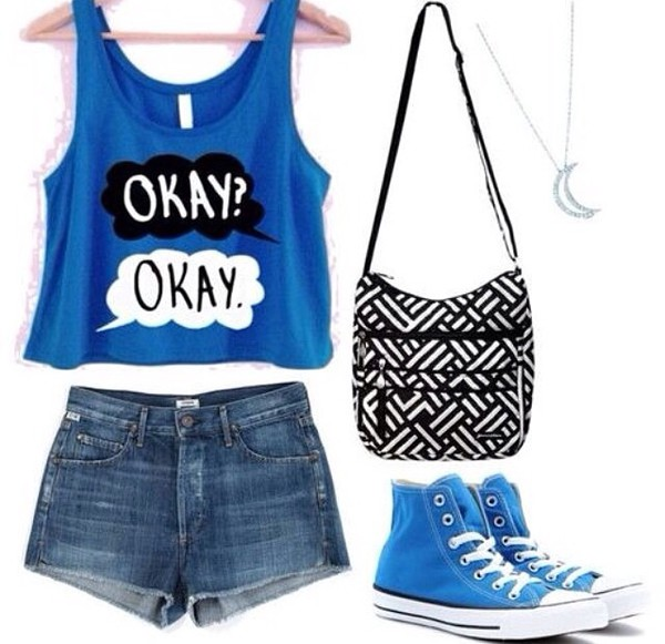 bag black purse blue converse the fault in our stars john green the fault in our stars the fault in our stars chevron