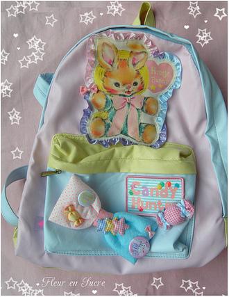 cute pastel bag pink bag