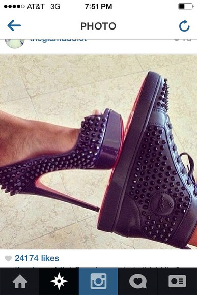 shoes christian louboutin his and hers high heels