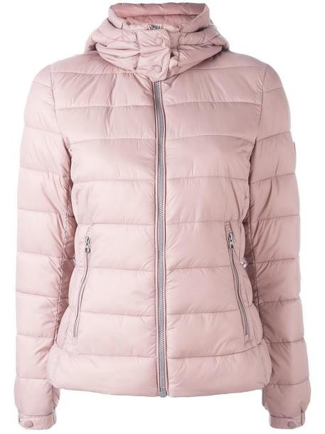 Save The Duck jacket women purple pink