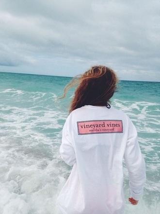 t-shirt summer beach shirt style summer shirt vineyard vines