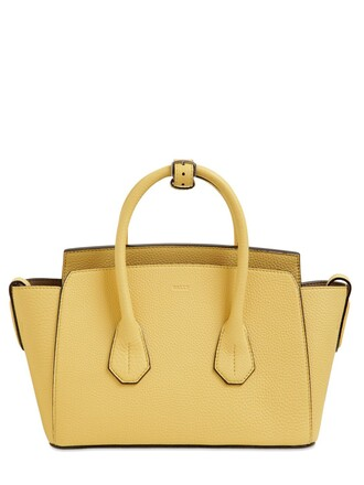 bag leather bag leather yellow