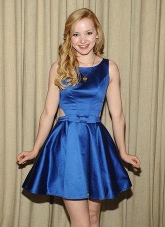 dress dove cameron blue blue dress bow
