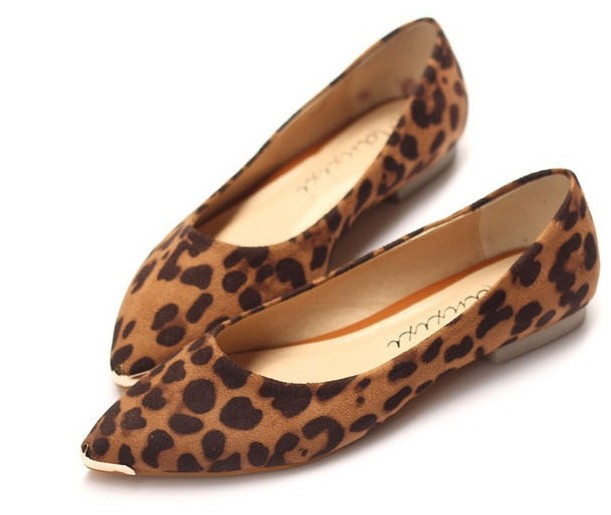 Fashion Ladies Brown Leopard Shoes on Luulla