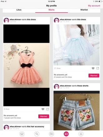 dress coral dress peach dress bows pink dress cutedresses