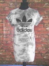 t-shirt,adidas,adi,casual,casuals,grey,smoke,grunge,streetwear,independent