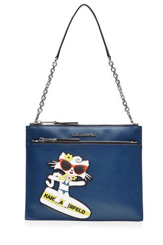 beach bag shoulder bag blue