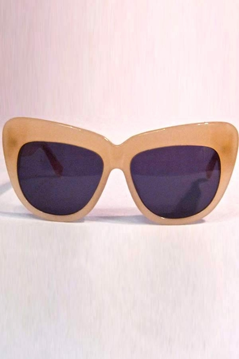 House of Harlow 1960 Chelsea Sunglasses in Nude