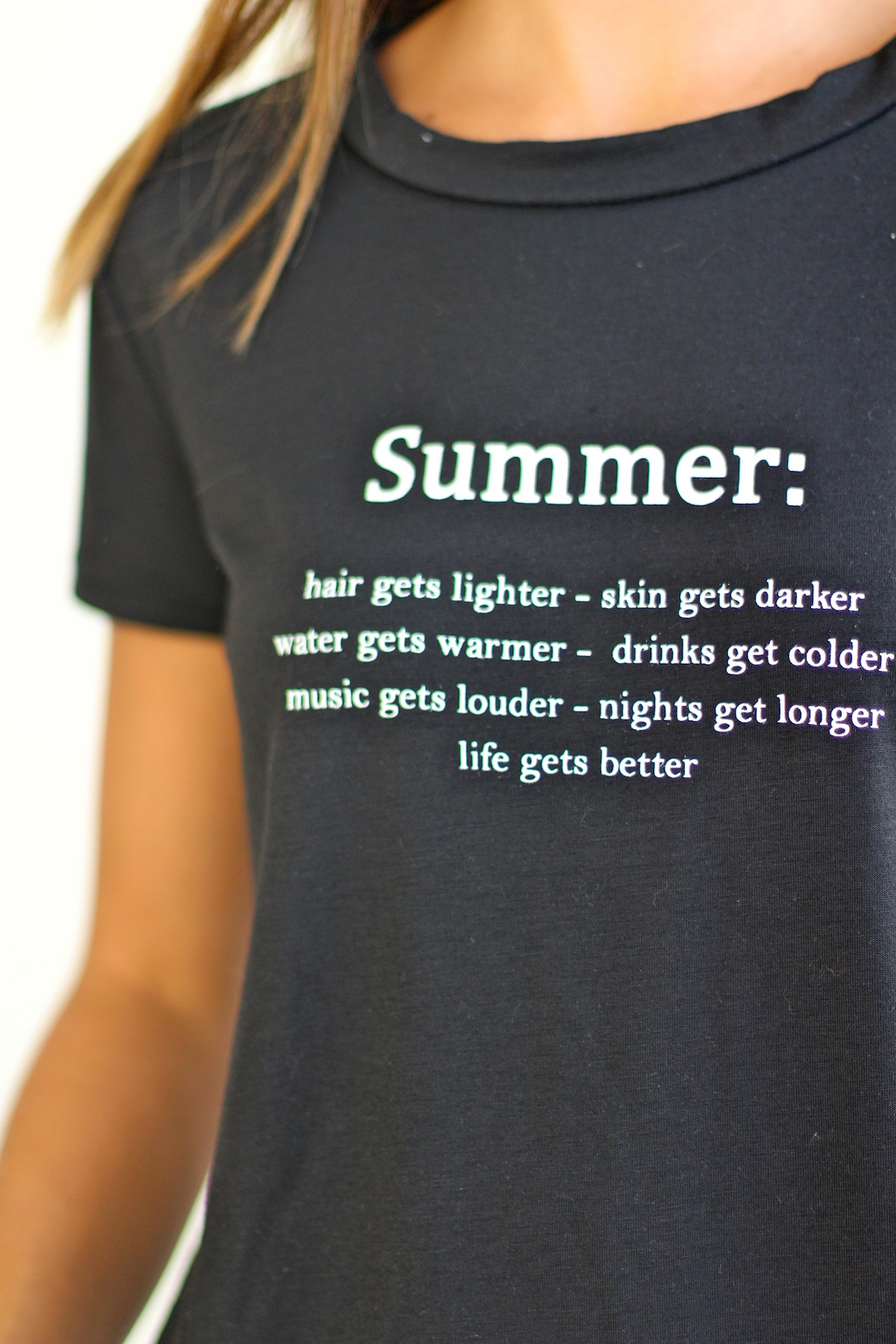 Camiseta Summer Negra - Like To SURF