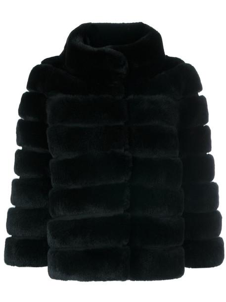 S.W.O.R.D 6.6.44 jacket fur fox women fit black