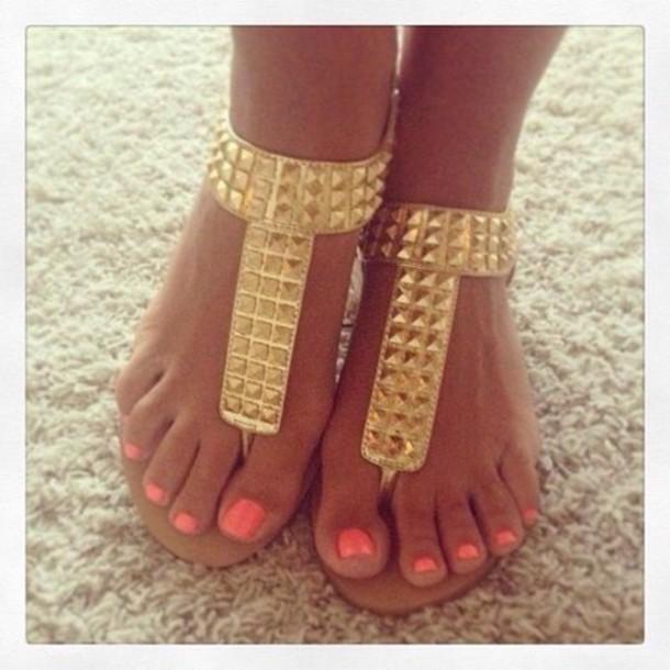 shoes sandals studs