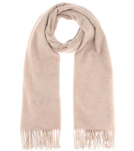 Acne Studios Canada New wool scarf in beige / beige