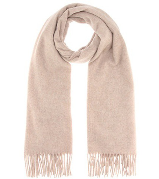 Acne Studios new scarf wool beige