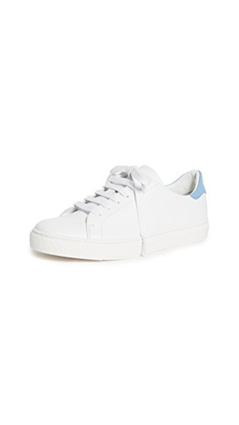 Anya Hindmarch tennis shoes eyes shoes white