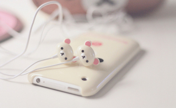 earphones iphone bear technology